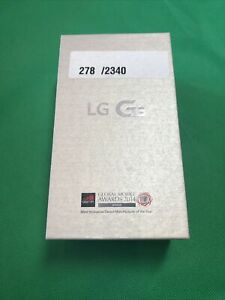 LG Mobile Phone Model:G3S 8GB  New Old Stock - Very Rare - Free Postage (W2C)