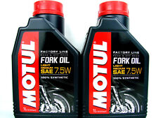 Motul Fork Oil Factory Line Light/medium 7 5w - Bidon de 1 L