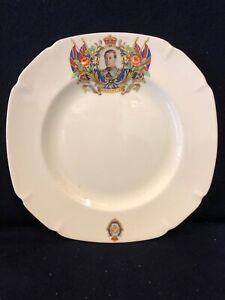 Celebrating Coronation of Edward V111 May 1937 China Plate By John Maddox