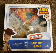 New Disney Pixar Toy Story 4 Pop Up Game by Cardinal