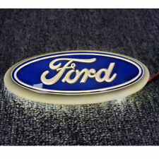 Blue Logo ABS Emblem Car Decal Badge Sticker For Ford Fiesta KA C-Max 2010-2015