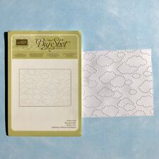 Stampin Up Sizzix Prägeform Wolkenmeer; Embossing Folder; selten