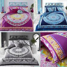 Sleepdown Paisley Mandala Duvet Cover Set Quilt Bedding Pillowcase