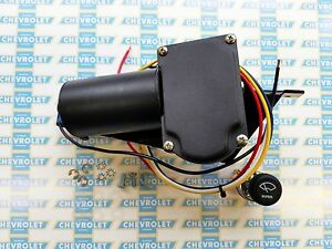 1935-1936 Chevrolet, Oldsmobile, Pontiac Electric Wiper Motor Kit | 12V Replace