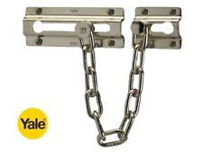 YALE SECURITY DOOR CHAIN IN POLISHED CHROME FINISH - P1037 - NEW