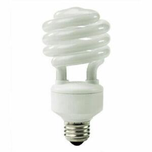 1 Bulb,23W(100W Equivalent), Mini Spiral CFL Bulb, E26 Base,Warm White,UL Listed