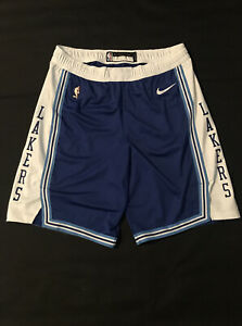 Lakers Shorts HWC Blue Team issued authentic size 44+2 nike Pro Cut 2020-21