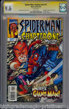 SPIDER-MAN CHAPTER ONE #11 CGC 9.6 SS STAN LEE WHITE 1 OF 1 CGC #1197173017