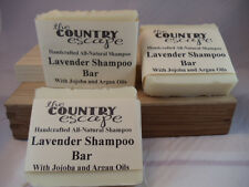 Lavender Shampoo Bar - Handcrafted - Organic - Vegan - Natural - Homemade