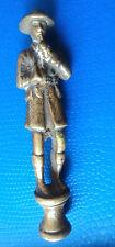 Vintage Brass Pipe Tamper - Welsh Journalist & Explorer  Henry Morton Stanley