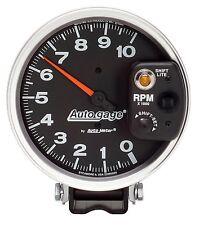 AUTO METER 233903 5'' AUTO GAGE MONSTER TACH W/ SHIFT LITE 10000 RPM