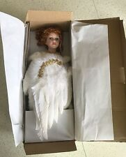 HERITAGE SIGNATURE COLLECTION PORCELAIN ANGEL DOLL #80025