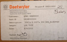 New Daetwyler VB062000003 MDC Doctor Blade for flexographic and gravure printing