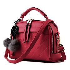 Damen Office Handtasche Schultertasche Messenger Tragetasche Leder Tasche