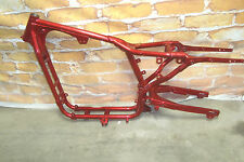 Frame Swing Arm Harley Davidson Sportster 883 Hugger XLH883 Candy Apple Red  BT