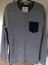 Abercrombie & Fitch Men's Grey Jumper.Size S.