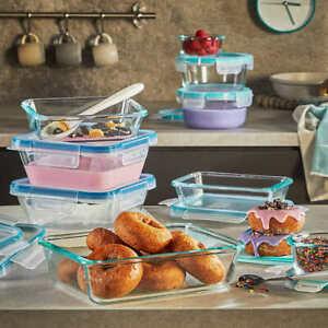 Bnew Snapware Pyrex 18-piece Glass Food Storage Set