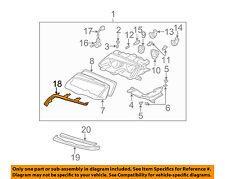 BMW OEM 01-06 M3 Headlight Head Light Lamp-Upper Molding Trim Left 63128384489