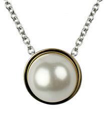 Skagen Damen Kette Edelstahl Silber Skj0880998 Anhänger perle Gold*