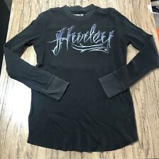 Hurley Mens Thermal Sweater Size M #14417