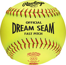 "Rawlings One Dozen Dream Seam 12"" Leather OHSAA Fastpitch Softball C12RYL-OH"