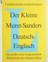Der Kleine Muret Sanders Deutsch Englisch Y5-397