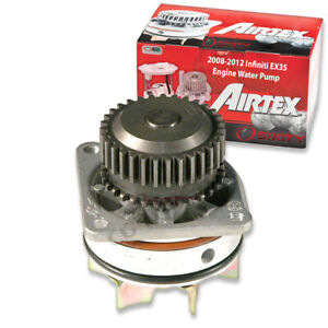 Airtex Engine Water Pump for 2008-2012 Infiniti EX35 3.5L V6 Coolant tp
