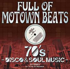 DJ OGGY-FULL OF MOTOWN BEATS - 70'S DISCO & SOUL MUSIC-JAPAN CD C94