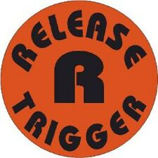 Release Trigger Decal Sticker Shotgun, Gun (Pack of 8) *Sale