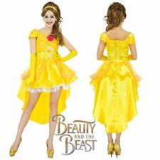 Disney Princess Belle Beauty And The Beast Fairytale Ladies Fance Dress Costume