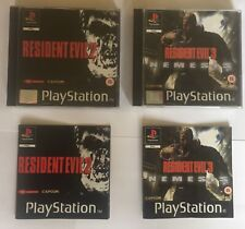 Resident Evil 2 & Evil 3 Nemesis - CAPCOM PS1 Complete With Manuals