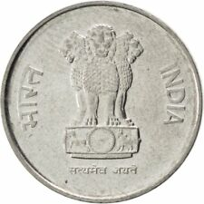 [#86937] INDIA-REPUBLIC, 10 Paise, 1989, KM #40.1, MS(63), Stainless Steel, 16