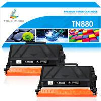 2PK Toner Cartridge for Brother TN880 HL-L6200DW L6250DW MFC-L6300DW MFCL6700DW