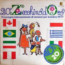 VINILE LP 33 GIRI RPM 20 ZECCHINO D'ORO RDZ LP 14289 ITALY 1977