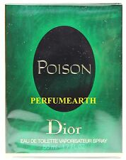 Poison By Christian Dior 1.6/1.7oz. Edt Spray For Women New In Box