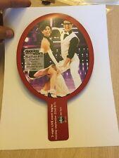 Rare Dancing With The Stars ABC Television Promo Paper Paddle Kristi Yamaguchi