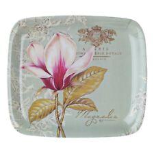 Pimpernel Vintage Toile Flower Melamine 20 x 17.5cm Scatter Serving Tray Dining