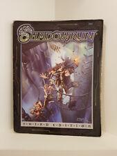 Shadowrun: Core Rulebook Third Edition, RPG, Fasa, Softcover