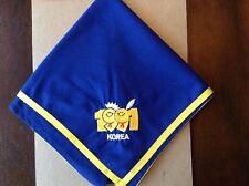 1991 World Scout Jamboree Korea Official Participant Neckerchief N/C