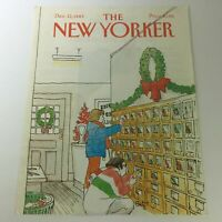 COVER ONLY - The New Yorker Magazine December 12 1983 - Arthur Getz