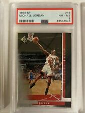 1996 SP 16 Michael Jordan [PSA 8]