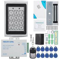 Electric Magnetic Door Lock Card Password Door Access Control Security System