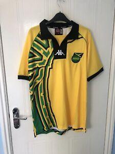Jamaica 1998 World Cup Kappa Football Shirt Size Large
