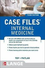 Case Files Internal Medicine, Third Edition (Lange Case Files)  VeryGood