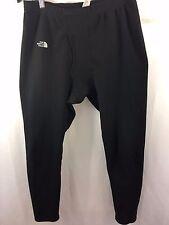 The NORTHFACE Base Layer Pants Men Large Underwear Leggings Black Warm Made USA