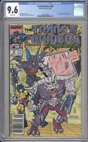 Marvel Comics TRANSFORMERS #40 CGC 9.6 NM (1988) White Pages