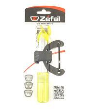 Zefal Air Profil Micro Mini Bicycle Pump, 100 PSI, Yellow