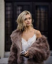 AJE Dietrich Faux Fur Jacket Size Small As New Condition.