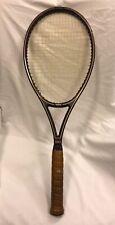 Yamaha Gold 90 Tennis Racquet Ceramics Series 90 W/ Tan Leather Grip Size 4 5/8