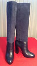 New And Authentic Christian Dior Suede And Leather Boots 38 1/2